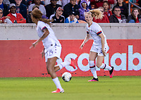 HOUSTON, TX - FEBRUARY 03: Sam Mewis #3 of the United States dribbles during a game between Costa Rica and USWNT at BBVA Stadium on February 03, 2020 in Houston, Texas.