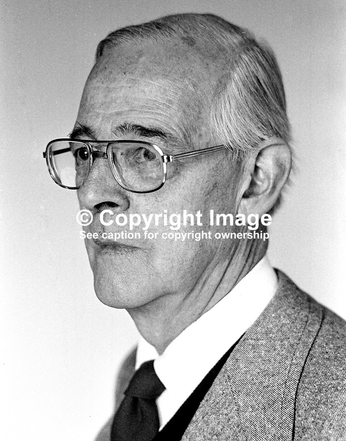 Professor J C Beckett, who retired as Professor of Modern History at Queen's University, Belfast,  N Ireland, UK, spent 1976 as Cummings Lecturer at McGill University, Montreal and later was visiting Professor at the Univeristy of Tulane, New Orleans in 1977. 197605180276..Copyright Image from Victor Patterson, 54 Dorchester Park, Belfast, UK, BT9 6RJ..Tel: +44 28 9066 1296.Mob: +44 7802 353836.Voicemail +44 20 8816 7153.Skype: victorpattersonbelfast.Email: victorpatterson@me.com.Email: victorpatterson@ireland.com (back-up)..IMPORTANT: If you wish to use this image or any other of my images please go to www.victorpatterson.com and click on the Terms & Conditions. Then contact me by email or phone with the reference number(s) of the image(s) concerned.