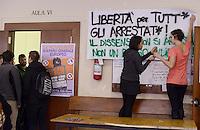 Studenti sugli scontri e gli arresti del 14 Novembre