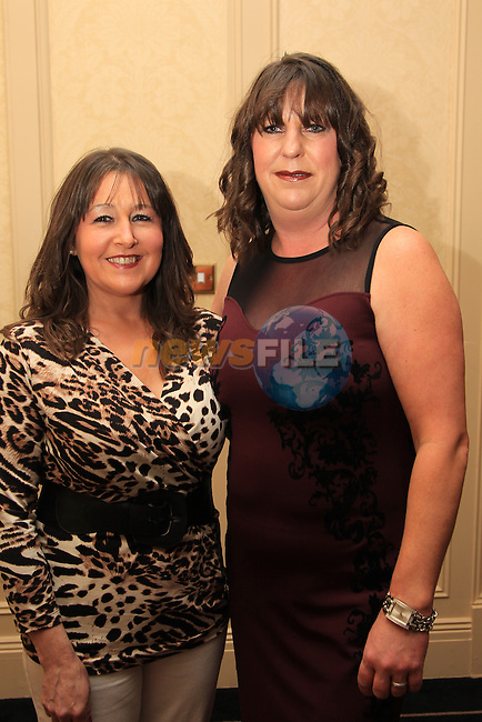 Orla Matthews.Catherine guinn.at the 70th Anniversary Celebration Oliver Plunketts GAA.Picture: Fran Caffrey/www.newsfile.ie.