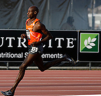 Bernard Lagat winning the 1500m run with a time of 3:36.38 at the Adidas Track Classic 2009 on Saturday, May 16, 2009. Photo by Errol Anderson, Photo by Errol Anderson,The Sporting Image.net
