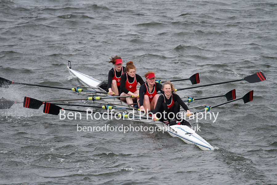 Crew: 267  Bedford Modern Sch  Event: Girls CHAMP quads<br /> <br /> Schools' Head of the River 2017<br /> <br /> To purchase this photo, or to see pricing information for Prints and Downloads, click the blue 'Add to Cart' button at the top-right of the page.