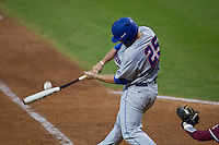 March 29, 2011:    Florida Gators inf/of Preston Tucker (25) lines the ball during action between Florida Gators and Florida State Seminoles played at the Baseball Grounds of Jacksonville in Jacksonville, Florida.  Florida State defeated Florida 5-2............
