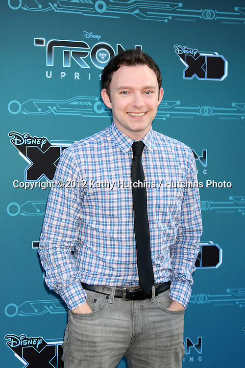 "LOS ANGELES - MAY 12:  Nate Corddry arrives at the Disney XD's ""TRON: Uprising"" Press Event and Reception at DisneyToon Studios/Disney Television Animation on May 12, 2012 in Glendale, CA"