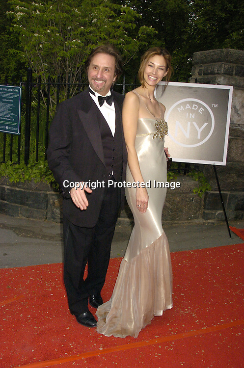 Ron Silver and Stacey Ness ..at the Pre Daytime Emmy Awards Party at Gracie Mansion on May 19, 2005. ..Photo by Robin Platzer, Twin Images