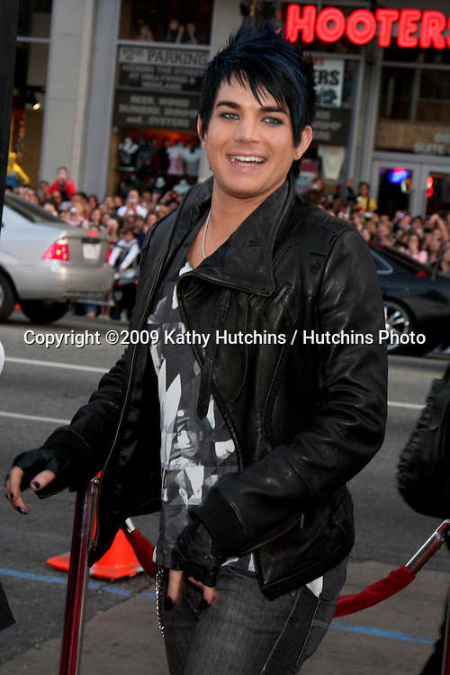 Adam Lambert  arriving at the 17 Again Premiere at Grauman's Chinese Theater in Los Angeles, CA on April 14, 2009.©2009 Kathy Hutchins / Hutchins Photo....                .