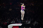 Gymnastics World Cup  23.3.19. World Resorts Arena. Birmingham UK.  Thais Fidelis (BRA)<br />  in action