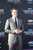 """19 April 2017 - Hollywood, California - Chris Pratt. Premiere Of Disney And Marvel's """"Guardians Of The Galaxy Vol. 2"""" held at Dolby Theatre. Photo Credit: PMA/AdMedia"""