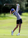 Silvia Brunotti during the New Zealand Amateur Golf Championship at Russley Golf Course, Christchurch, New Zealand. Saturday 4 November 2017. Photo: Simon Watts/www.bwmedia.co.nz