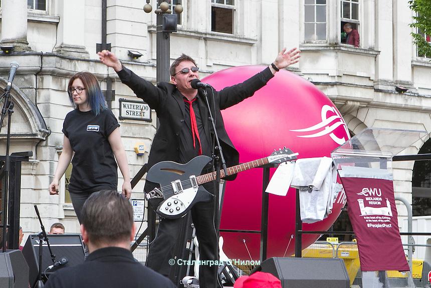 People's Post Rally; Birmingham; 4th June 2016. The Score