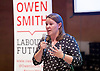 Owen Smith MP<br /> Labour Leadership candidate <br /> Rally at Lyric Theatre, Hammersmith, London, Great Britain <br /> 23rd August 2016 <br /> <br /> Anna Turley MP<br /> Redcar MP <br /> <br /> Photograph by Elliott Franks <br /> Image licensed to Elliott Franks Photography Services