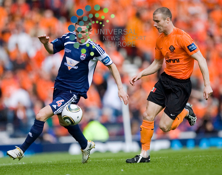 Martin Scott of county gets down the wing during The 125th Active Nation Scottish Cup Final match Between Dundee United and Ross County 15/05/10..Picture by Ricky Rae/universal News & Sport (Scotland).