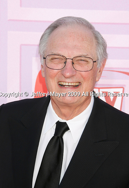 UNIVERSAL CITY, CA. - April 19: Alan Alda arrives at the 2009 TV Land Awards at the Gibson Amphitheatre on April 19, 2009 in Universal City, California.