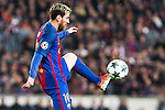 FC Barcelona's Leo Messi  during Champions League match between Futbol Club Barcelona and VfL Borussia Mönchengladbach  at Camp Nou Stadium in Barcelona , Spain. December 06, 2016. (ALTERPHOTOS/Rodrigo Jimenez)