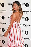 LONDON, UK. October 21, 2018: Kaz Crossley at tthe BBC Radio 1 Teen Awards 2018 at Wembley Stadium, London.<br /> Picture: Steve Vas/Featureflash