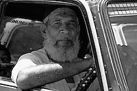 Your typical Mumbai taxi driver, central Mumbai, India