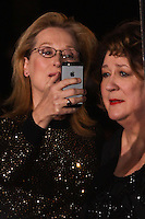 PALM SPRINGS, CA - JANUARY 04: Meryl Streep, Margo Martindale arriving at the 25th Annual Palm Springs International Film Festival Awards Gala held at Palm Springs Convention Center on January 4, 2014 in Palm Springs, California. (Photo by Xavier Collin/Celebrity Monitor)