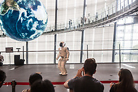 Tokyo- Museo nazionale delle nuove scienze e dell'innovazione - The National Museum of Emerging Science and Innovation (Miraikan) The Asimo robot The Honda humanoid robot