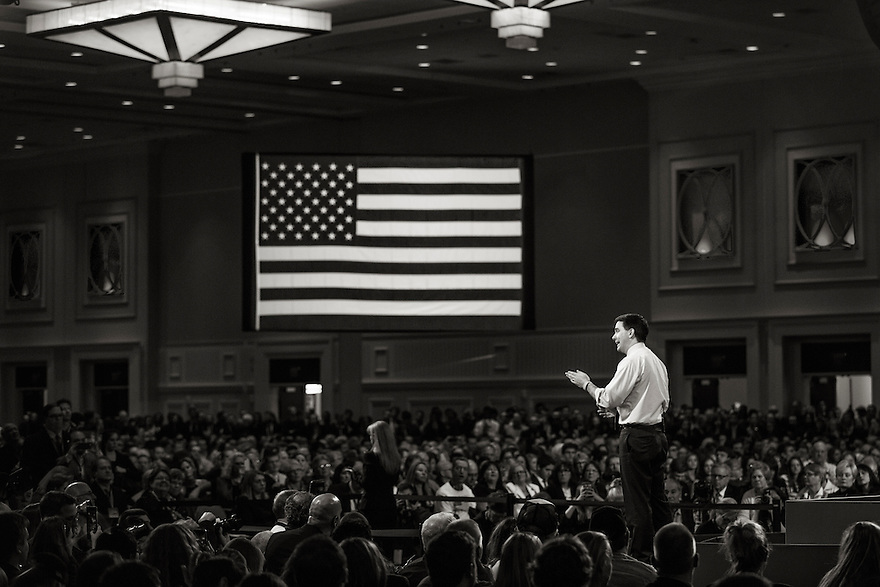Wisconsin Governor Scott Walker speaks at the 2015 Conservative Political Action Conference (CPAC) outside Washington, DC