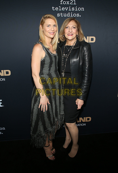 BEVERLY HILLS, CA - JUNE 5: Claire Danes, Lesli Linka Glatter,  pictured at the Homeland FYC event at the Writers Guild Theater in Beverly Hills, California on June 5, 2018. <br /> CAP/MPI/FS<br /> &copy;FS/MPI/Capital Pictures