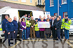 Garda Presentation: Sgt. Paula Kelleher,third from right, ofv listowel Garda Station, presenting a cheque to Bridie Murphy, Principal Nano Nagle School , Listowel for EUR5150.00 the proceeds of the Garda Dance that was held in The Listowel arms on January 19th last. The money will be used to take the the adult students on a holiday with some of their adult friends.