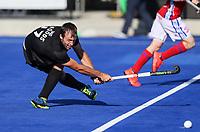 Nic Woods. Pro League Hockey, Vantage Blacksticks v Great Britain. Nga Puna Wai Hockey Stadium, Christchurch, New Zealand. Friday 8th February 2019. Photo: Simon Watts/Hockey NZ