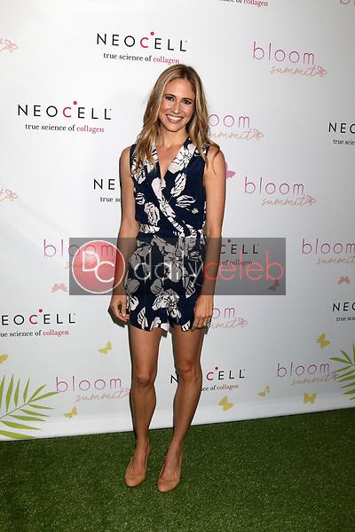 Ellie Knaus<br /> at the Bloom Summit, Beverly Hilton Hotel, Beverly Hills, CA 06-02-18<br /> David Edwards/DailyCeleb.com 818-249-4998