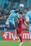 Jiangsu FC Midfielder Ramires Santos (L) fights for the ball with Shanghai FC Midfielder Lin Chuangyi (R) during the AFC Champions League 2017 Round of 16 match between Jiangsu FC (CHN) vs Shanghai SIPG FC (CHN) at the Nanjing Olympic Stadium on 31 May 2017 in Nanjing, China. Photo by Marcio Rodrigo Machado / Power Sport Images
