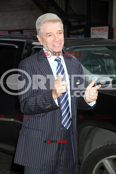 May 09 , 2012 Tom Dreesen arriving at Late Show with David Letterman in New York City. Credit: RW/MediaPunch Inc.