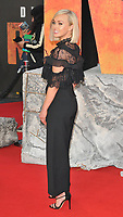 Jorgie Porter at the &quot;Rampage&quot; European film premiere, Cineworld Empire, Leicester Square, London, England, UK, on Wednesday 11 April 2018.<br /> CAP/CAN<br /> &copy;CAN/Capital Pictures