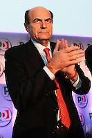 Pierluigi Bersani Segretario PD.Roma 20/1/2012 Nuova Fiera Di Roma.Assemblea Nazionale PD Partito Democratico.Foto Insidefoto Andrea Staccioli