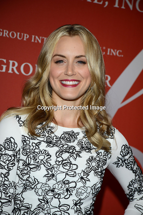 Taylor Schilling attends the Fashion Group International's Night of Stars Gala on October 22, 2013 at Cipriani Wall Street in New York City.
