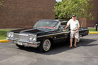1964 Contemporary Senior (#47.2) – 1964 Chevrolet Impala Super Sport 2-Door Hardtop registered to Jerry W. Shull is pictured during 4th State Representative Chevy Show on Friday, July 1, 2016, in Fort Wayne, Indiana. (Photo by James Brosher)