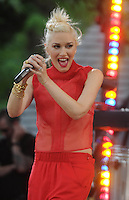 Gwen Stefani rocks out on stage - New York