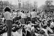 Manhattan, New York City, NY. April 27th, 1969. <br />