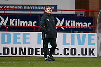 3rd March 2020; Dens Park, Dundee, Scotland; Scottish Championship Football, Dundee FC versus Alloa Athletic; Alloa Athletic manager Peter Grant