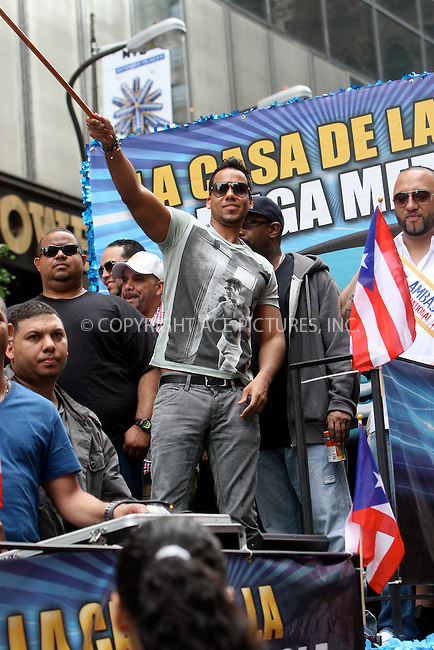 WWW.ACEPIXS.COM . . . . .  ....June 12 2011, New york City....Singer Romeo attends the 2011 National Puerto Rican Day Parade on June 12, 2011 in New York City. ....Please byline: NANCY RIVERA- ACEPIXS.COM.... *** ***..Ace Pictures, Inc:  ..Tel: 646 769 0430..e-mail: info@acepixs.com..web: http://www.acepixs.com