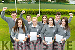 Double Delight: Four sets of twins at Intermediate School Killorglin students received their Junior Certs results on Wednesday l-r: Lucy & Jack Clifford, John & Sinead O'Connell, Isabel & Emily Kehoe and Oisin & Brianna O'Connor
