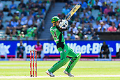 10th February 2019, Melbourne Cricket Ground, Melbourne, Australia; Australian Big Bash Cricket, Melbourne Stars versus Sydney Sixers;  Peter Handscomb of the Melbourne Stars hits the ball through the off side