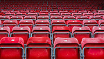 S&ouml;dert&auml;lje 2014-05-31 Fotboll Superettan Syrianska FC - &Auml;ngelholms FF :  <br /> Stolar s&auml;ten p&aring; huvudl&auml;ktaren p&aring; S&ouml;dert&auml;lje Fotbollsarena<br /> (Foto: Kenta J&ouml;nsson) Nyckelord:  Syrianska SFC S&ouml;dert&auml;lje Fotbollsarena &Auml;ngelholm &Auml;FF utomhus exteri&ouml;r exterior