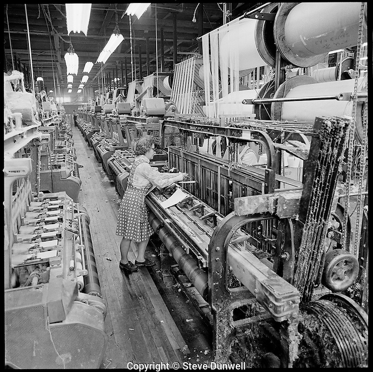 narrow fabric weaver, Arbeka Webbing, Pawtucket, RI