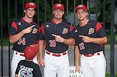 Batavia Muckdogs  during a game against the West Virginia Black Bears on August 20, 2016 at Dwyer Stadium in Batavia, New York.  Batavia defeated West Virginia 7-2. (Mike Janes/Four Seam Images)