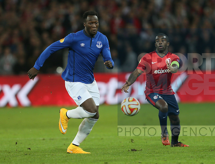 Everton's Romulu Lukaku in action<br /> <br /> - Europa League - Lille vs Everton - Stade Pierre-Mauroy - Belgium - 23rd October 2014 - Picture David Klein/Sportimage
