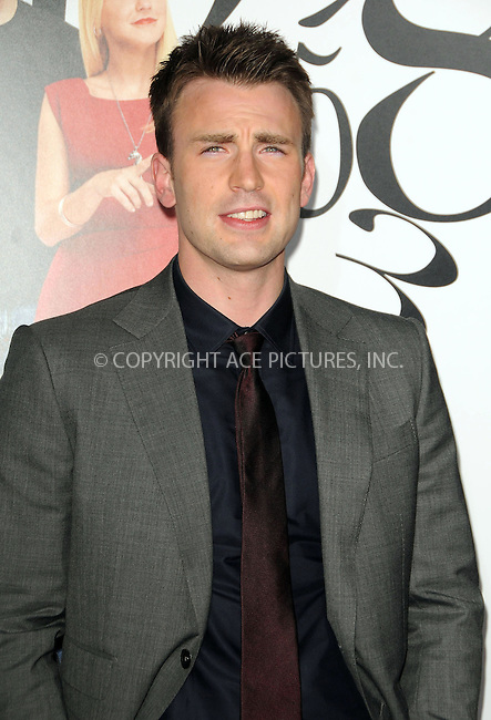 WWW.ACEPIXS.COM . . . . .  ....September 19 2011, LA....Chris Evans arriving at the 'What's Your Number?' Los Angeles Premiere at the Regency Village Theatre on September 19, 2011 in Westwood, California.....Please byline: PETER WEST - ACE PICTURES.... *** ***..Ace Pictures, Inc:  ..Philip Vaughan (212) 243-8787 or (646) 679 0430..e-mail: info@acepixs.com..web: http://www.acepixs.com