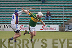 Kerry's Gary O'Brien and UL's Kieran Joyce.