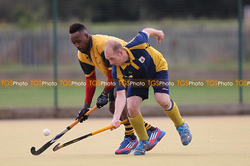 Romford HC vs Old Southendian HC 2nd XI, East Region League Field Hockey at the Robert Clack Leisure Centre on 8th October 2016
