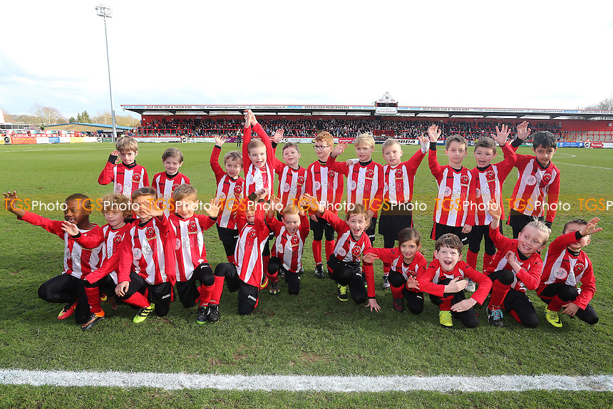 Youth team group during Stevenage vs Notts County, Sky Bet EFL League 2 Football at the Lamex Stadium on 4th March 2017