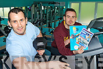 HAPPY BIRTHDAY: Craig Clifford and Keith O'Boyle at the Castlemaine Community Gym which celebrates its second birthday on March 1st and is offering a special price on membership.
