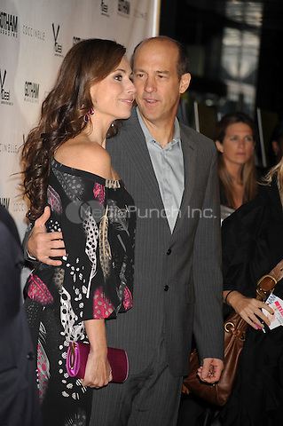 Minnie Driver and Anthony Edwards at the film premiere for Motherhood at The School of Visual Arts Theater in New York City. October 14, 2009.. Credit: Dennis Van Tine/MediaPunch