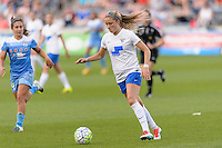 Bridgeview, IL - Saturday June 18, 2016: Kristie Mewis during a regular season National Women's Soccer League (NWSL) match between the Chicago Red Stars and the Boston Breakers at Toyota Park.